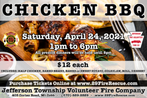 Chicken BBQ @ Jefferson Township Fire Company | Mount Cobb | Pennsylvania | United States
