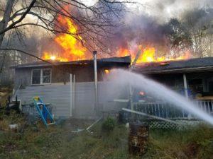2nd Alarm Roaring Brook Fire Destroys Home