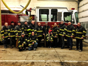Critically Injured Accident Victim Reunites with Firefighters