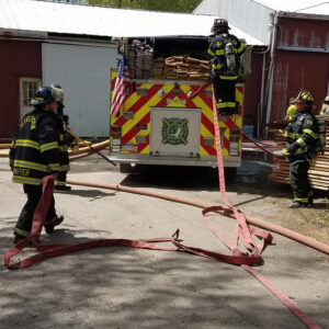 Afternoon Wayne County Structure Fire Levels Garage