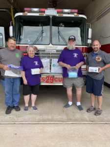 Lions Donate PPE to Emergency Responders