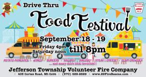 Food Festival: Drive Thru - Day 1 @ Jefferson Township Volunteer Fire Compant
