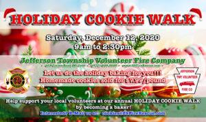 Christmas Cookie Walk @ Jefferson Township Fire Company | Mount Cobb | Pennsylvania | United States